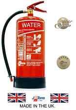 Jactone 9l Water H20 Fire Extinguisher Safety 137859 EWS9 C4ja