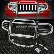 FOR 02-07 JEEP LIBERTY KJ SUV CHROME STAINLESS STEEL FRONT BUMPER GRILL GUARD