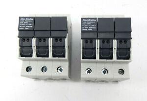 2x Allen-Bradley Sicherungsschalter 1492-FB3C30-L  30A 600V