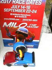 MIlo The Moose New Hampshire Motor Speedway Bobblehead