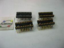 IC Socket 20-Pin DIP Wire-Wrap Standard - Used Pulls Qty 4