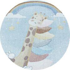 Tappeti rotondi per bambini in diverse misure a pelo corto da 10 mm con simpatic