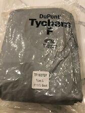 Dupont Tychem F Hazmat Suit Tf169tgy Size L