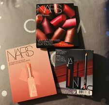 Nars Rouge A Levres Lipstick 12 color sample card,Afterglow Lip Balm,Lip Liner