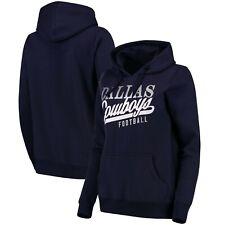 Women s Dallas Cowboys Remi Navy Pullover Hooded Sweatshirt Ladies Small  Hoody 0787e81f4