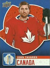 Upper Deck World Cup 2016 WORLD CUP OF HOCKEY JOHN TAVARES #WCH-4 TEAM CANADA SP