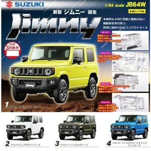 BEAM 1/64 Suzuki Jimny JB64W / Complete Set of 4 Figures