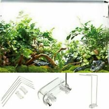 Led Light Aquarium Stand 4Pcs Stainless Steel  Fish Tank Holder Support Bracket