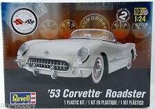 1:24 Scale '53 Corvette Roadster Model Kit - Skill 2 - Revell #85-4057