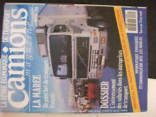 ** Camions magazine n°85 intéressement des salariés dans entreprises  transport