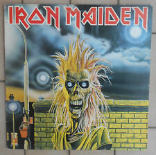 IRON MAIDEN DISCO LP 33 GIRI EMI 3C 064 07269 PRINTED IN ITALY