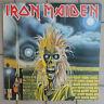 IRON MAIDEN DISCO LP 33 GIRI EMI 3C 064 07269 PRINTED IN ITALY