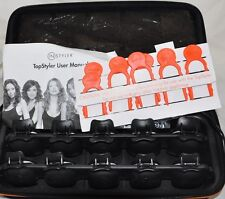 TopStyler by InStyler Heated Ceramic Styling Shells Hair Curlers with Case