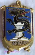 IN10972 - INSIGNE 41° Régiment d'Artillerie de Marine, dos guilloché doré