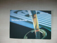 BMW SERVICE BOOK ALL MODELS