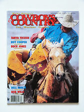 Cowboys & Country Magazine: Spring/Summer 1996, Buck Jones, Roy Cooper..Etc.