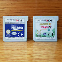 Finding Nemo Special Edn & Imagine Champion Rider 3DS - Aust release - free post
