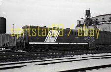 CNJ Central RR of NJ EMD GP7 Locomotive #1524 - Vintage 35mm Railroad Negative