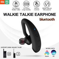 Walkie Talkie bluetooth Earphone Headset  For Handheld Xiaomi Smartphone