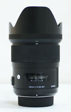 Sigma 35mm F/1.4 DG HSM Lens For Nikon