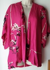 Gorgeous Summer Open Blouse jacket/Cape FRENCH CONNECTION Size s/m