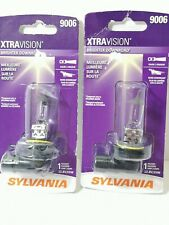2 Packs Headlight Bulb Xtra Vision Blister Pack Sylvania 9006XV.BP2