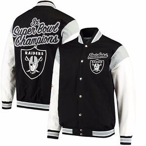 Oakland Raiders G-III Sports ELITE Commemorative Jacket - Black
