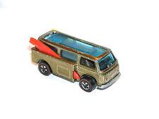 1969 Hot Wheels Redline Beach Bomb VW BUS TUF PRETTY OLIVE SHOWS 4 SUM 4 SURE SC