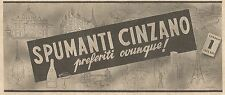 Y2092 Spumanti CINZANO preferiti ovunque - Pubblicità del 1934 - Old advertising