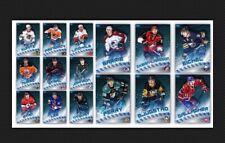 15 CARD SET-ICE BASE-BLADES-FIRE & ICE-TOPPS SKATE 19 DIGITAL
