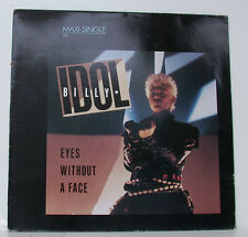 "BILLY IDOL YEUX WITHOUT A VISAGE 12"" MAXI SINGLE (f963)"