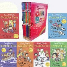 Famous Five 7 Books Collection Set By Enid Blyton Gift Wrapped Slipcase New Pack