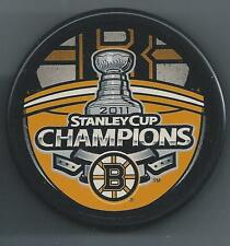 2011 Stanley Cup Champions  Boston Bruins  Souvenir Hockey Puck
