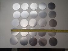 A 25 PACK OF ALUMINIUM DISCS / BLANKS 41 mm diameter x .9 mm thickness 20 gauge