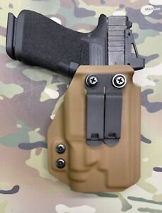 Coyote Tan Kydex IWB Holster for Glock 48 MOS Streamlight TLR-7 sub