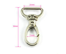 12 Pieces 21mm Metal Swivel Snap Hook Handbag Lanyard Clasp