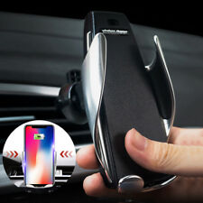 Smart Automatic Clamping Wireless Car Charger Receiver Mount For iPhone Samsung