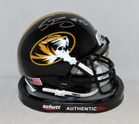 Shane Ray Autographed Missouri Tigers Schutt Mini Helmet- JSA W Authenticated