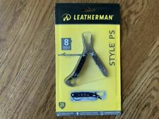 Leatherman 831488 Style PS Keychain Tool Black/stainless TSA Compliant