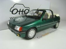 PEUGEOT 205 ROLAND GARROS CABRIOLET 1989 1/18 OTTO MOBILE (GREEN)