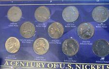 U.S. Nickel Type Lot: A Century of U.S. Nickels (Liberty, Buffalo, & Jefferson)