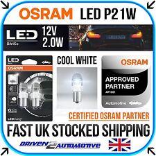 Osram P21W Premium LED Bulbs 382 6000K Cool White BA15s Bayonet 12V 7556CW-02B