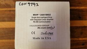 Faulhaber MVP2001B02, RS-485 Single Axis Intelligent Drive, (NOS Sealed Boxes)