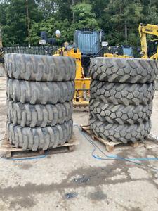 Part Worn Tyres - 15.5-25 JCB Sitemaster Tyres