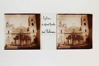 Monte Reale Près Palermo Italia Placca Da Lente Stereo Positive Ca 1905