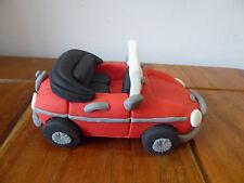 3D HANDMADE SPORTS CAR / MG ROADSTER CAKE TOPPER / birthday topper