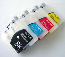 Refillable Cartridges for Brother LC16 LC38 LC61 LC65 LC67 LC980 LC990 LC1100