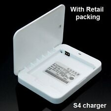 Spare Battery Charger For Samsung Galaxy S4 ( for genuine/original S4 battery)