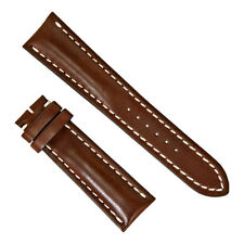 Breitling Brown Leather Watch Strap 443X