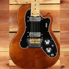 OVATION VIPER VINTAGE 70s Walnut Clean! + OHSC Excellent Solid Body Guitar 5191